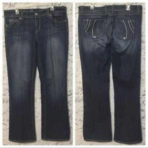 Kut From The Kloth So Low Boot Cut Jeans Sz 12X33